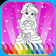 Coloring Book Princess Girls
