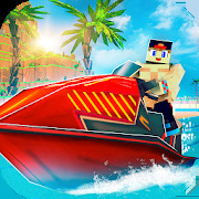 Jet Ski Craft: Crafting, Stunts & Bikini Bottom 3D