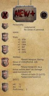NPC Generator Screenshot