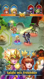 Castle Clash: King's Castle DE Screenshot