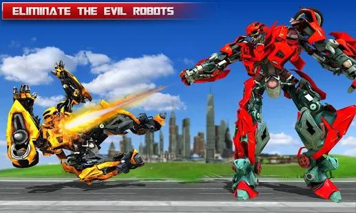 Fire Truck Real Robot Transformation: Robot Wars Screenshot