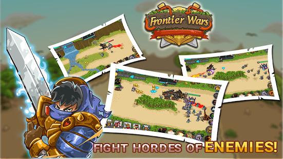 Frontier Wars: Defense Heroes - Tactical TD Game Screenshot