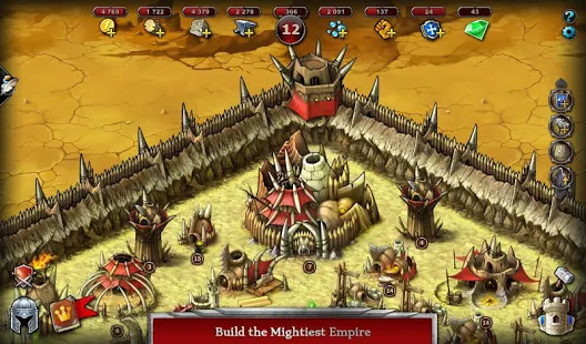 Emporea: Real-time Multiplayer War Strategy Game Screenshot