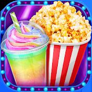 Crazy Movie Night Food Party - Make Popcorn & Soda