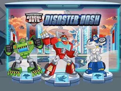 Transformers Rescue Bots: Disaster Dash Screenshot