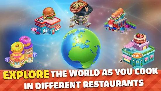 Cook It! New Cooking Games Craze & Free Food Games Screenshot