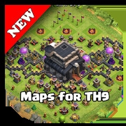 COC Base Map for TH9