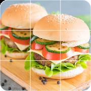 Tile Puzzles - Slide Puzzles Food