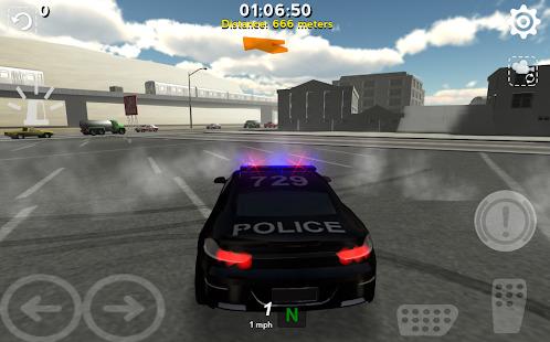Police Traffic Pursuit Screenshot