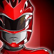 Red Ranger Robots Vs Dino