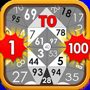 Find The Number 1 to 100 - Number Puzzle Game