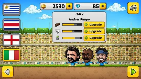 Puppet Soccer 2014 - Big Head Football Screenshot
