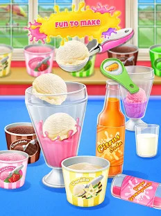 Ice Cream Soda - Summer Sweet Icy Drink Maker Screenshot
