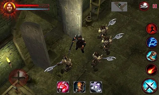 Dungeon and Demons  - Offline RPG Dungeon Crawler Screenshot