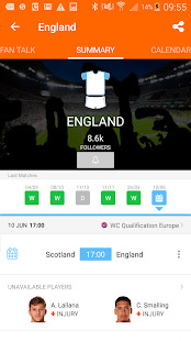 LiveSoccer: soccer live scores in real-time Screenshot