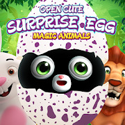 Surprise eggs - open cute magic animals