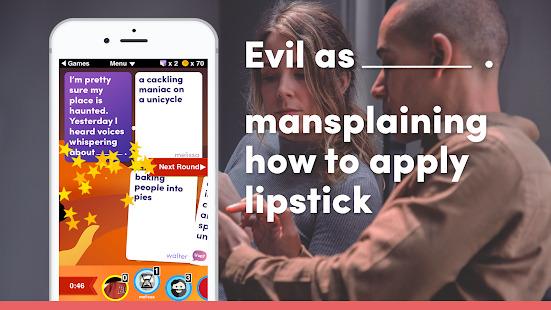 Evil Apples: You Against Humanity Screenshot