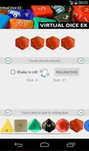 Virtual Dice EX Screenshot