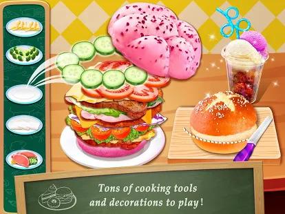 School Lunch Maker! Food Cooking Games Screenshot