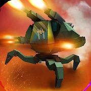 Battle Mech Craft: X4 Robot Builder. War Simulator