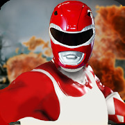 Red Ranger Robots Dino Fight 2020- Red Ranger 20