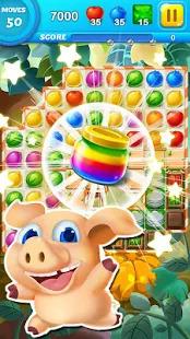 Fruit Smash King - Garden Drop Screenshot