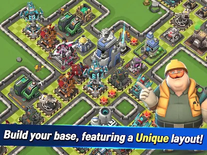 Rocket War: Clash in the Fog Screenshot
