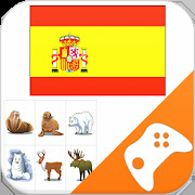 Spanish Game: Word Game Vocabulary Game