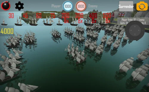 MEDIEVAL NAVAL WARS: FREE REAL TIME STRATEGY GAME Screenshot