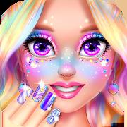 Rainbow Unicorn Nail Beauty Artist Salon