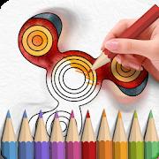 Fidget Spinner Coloring Books