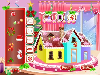 Hot Christmas Room Decoration Screenshot