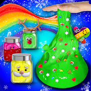 Glow In The Dark Christmas Slime Maker & Simulator