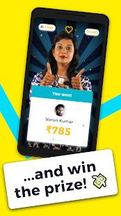 Video GK quiz with cash prizes- Mob Show Screenshot