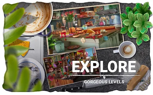 Hidden Objects Messy Kitchen  Cleaning Game Screenshot