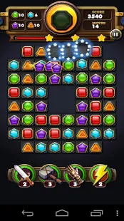 Jewel Crush Mania - Gem Quest Screenshot