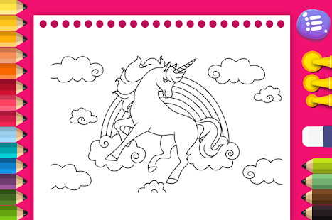Unicorns to download - Unicorns Kids Coloring Pages | 310x467