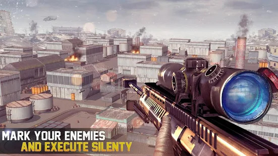 Sniper Shooting Battle 2019  Gun Shooting Games Screenshot