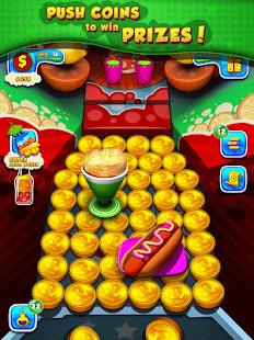 Soda Pizza Coin Party Dozer Screenshot