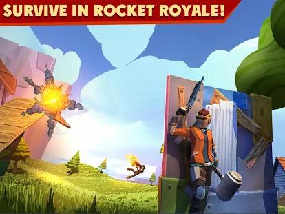 Rocket Royale Screenshot