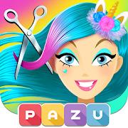 Girls Hair Salon Unicorn - Hair makeover game