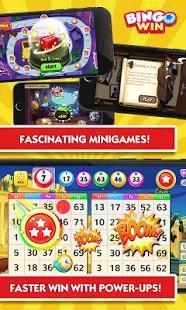 Bingo Win Screenshot