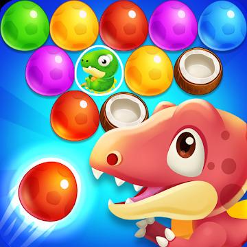 Dinosaur Egg - pop bubble shoot
