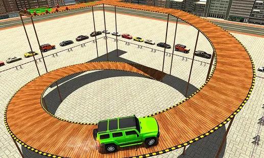 City Climb Prado Stunt Parking Screenshot
