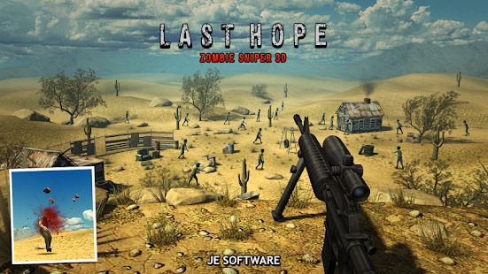 Last Hope - Zombie Sniper 3D Screenshot