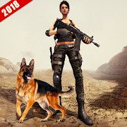 Front Line Female Commando FPS Action Game