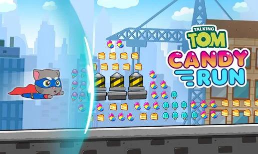 Talking Tom Candy Run Screenshot