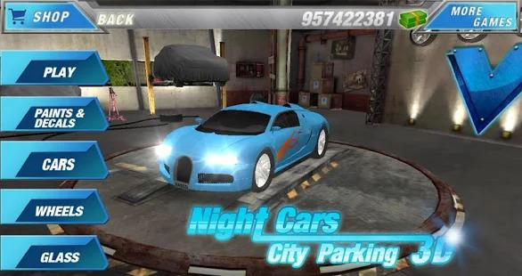 Car Parking 3D - Night City Screenshot