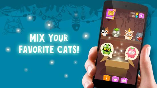Breed cats using magic skills: Evolve And Create Screenshot
