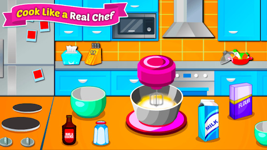 Baking Cupcakes - Cooking Game Screenshot